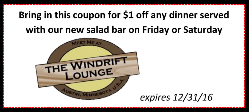 The Windrift Lounge, Austin Mn
