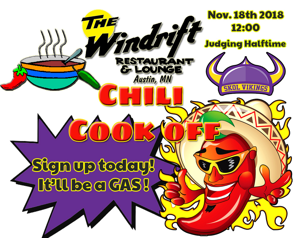 Chili Cook Off - The Windrift Lounge Austin, MN